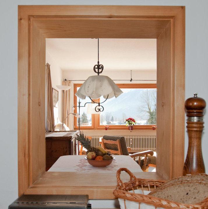 Durchreiche Küche durchreiche küche wohnzimmer ferienwohnung höß bad wiessee
