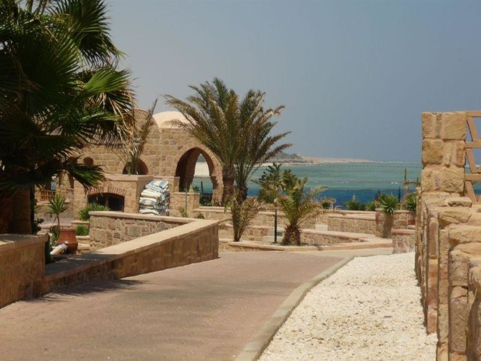 Blick auf die Hotelbar Mövenpick Resort El Quseir