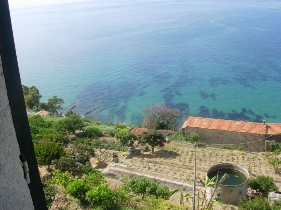 Sea view from room Bed and Breakfast Romantic Casa Lorenzina
