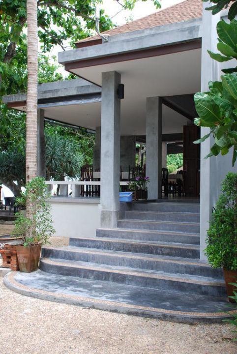 Neuer, offener Zugang zum Restaurant Hotel Lanta Sand Resort & Spa