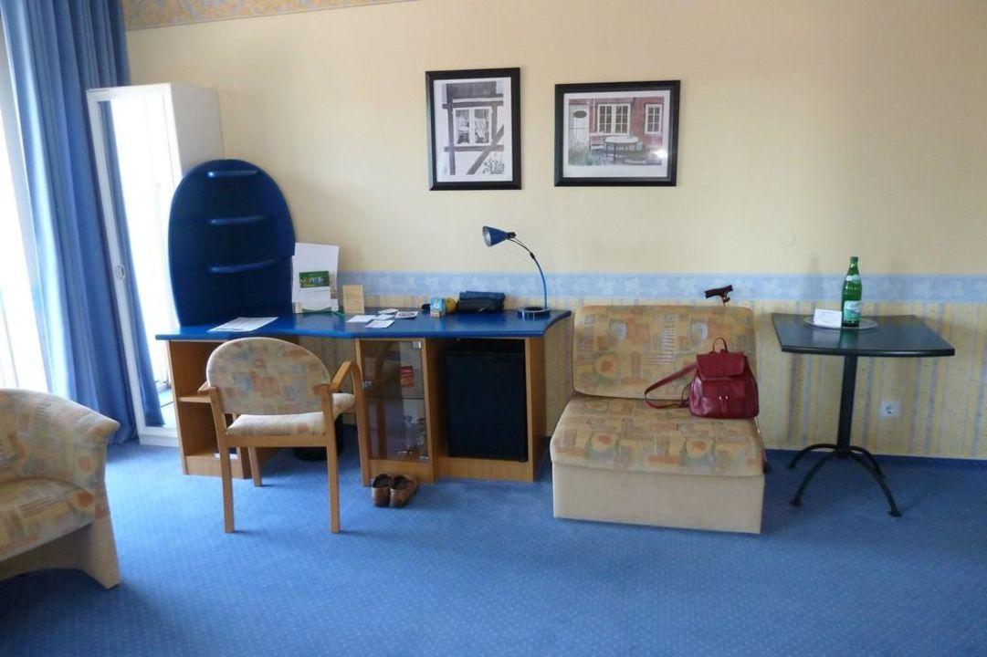 Drei Möbelstile Im Zimmer Parkhotel Klüschenberg Plau Am See