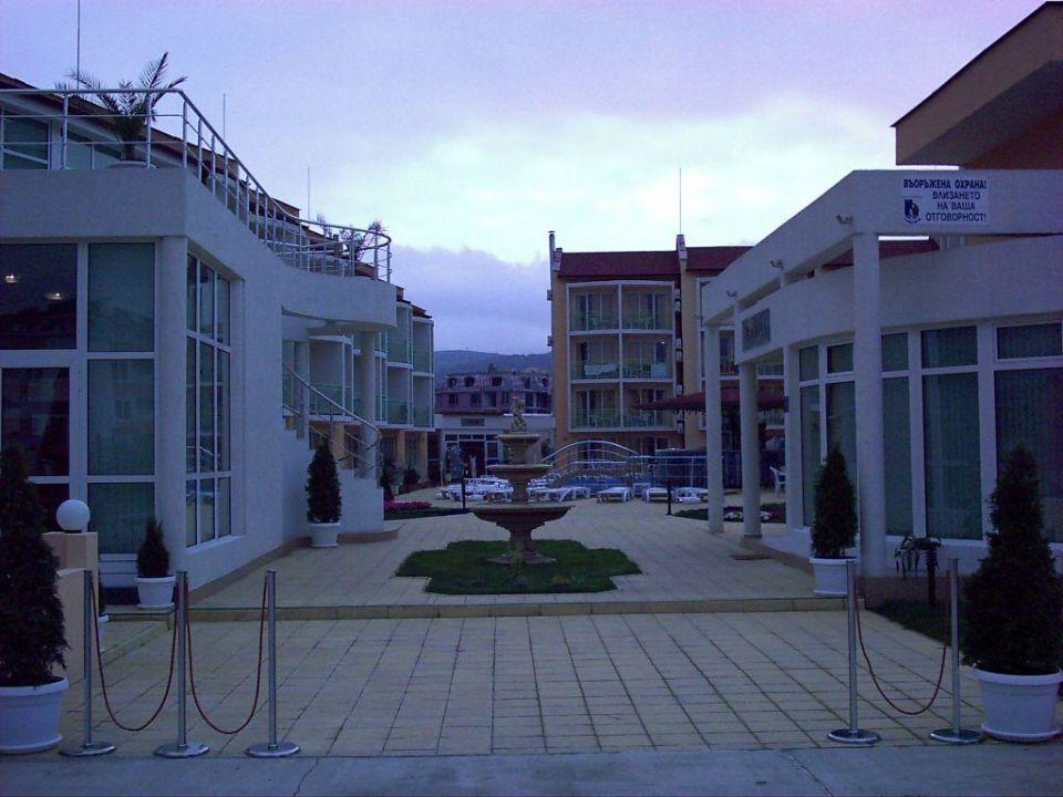 Hoteleingang Hotel Sun City