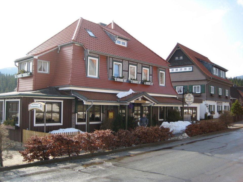 Das Brockenstübchen mit Nebengebäude Hotel Brockenstübchen