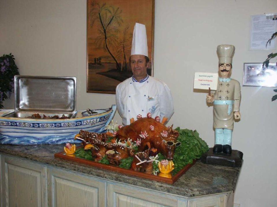 Der beste Koch von Rhodos Hotel Kalithea Mare Palace