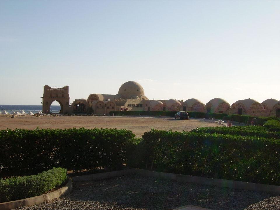 Blick auf das Restaurant Marsa Shagra Village