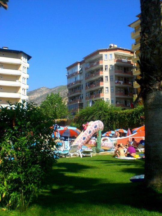 Garten  Hotel Elysee Garden