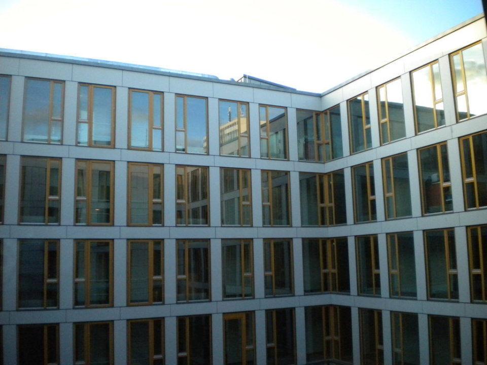 Blick aus dem Fenster Hotel Novotel Karlsruhe City