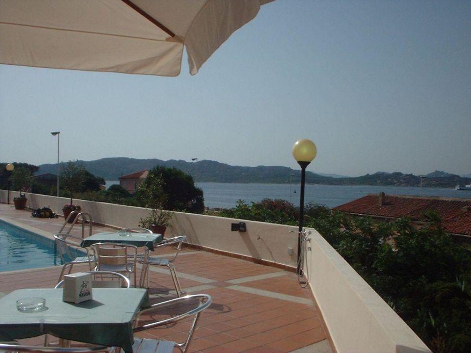 Blick von Hotelterrasse Hotel Miralonga