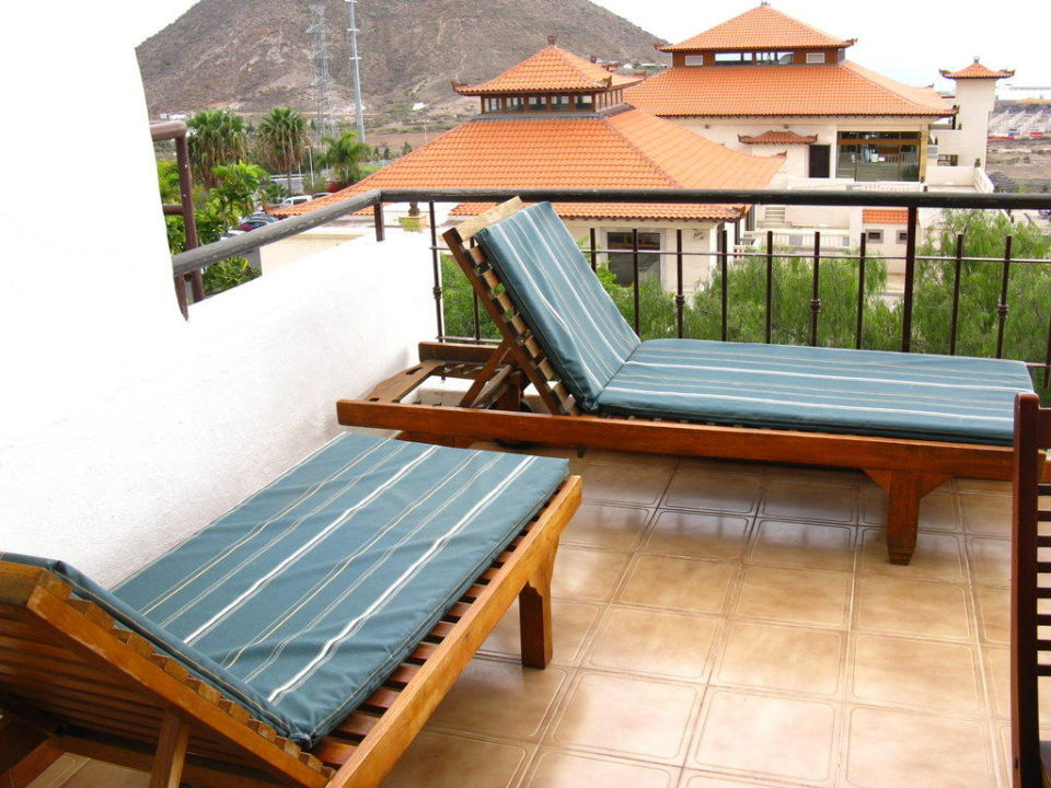 dach terrasse hotel regency country club playa de las americas holidaycheck teneriffa. Black Bedroom Furniture Sets. Home Design Ideas