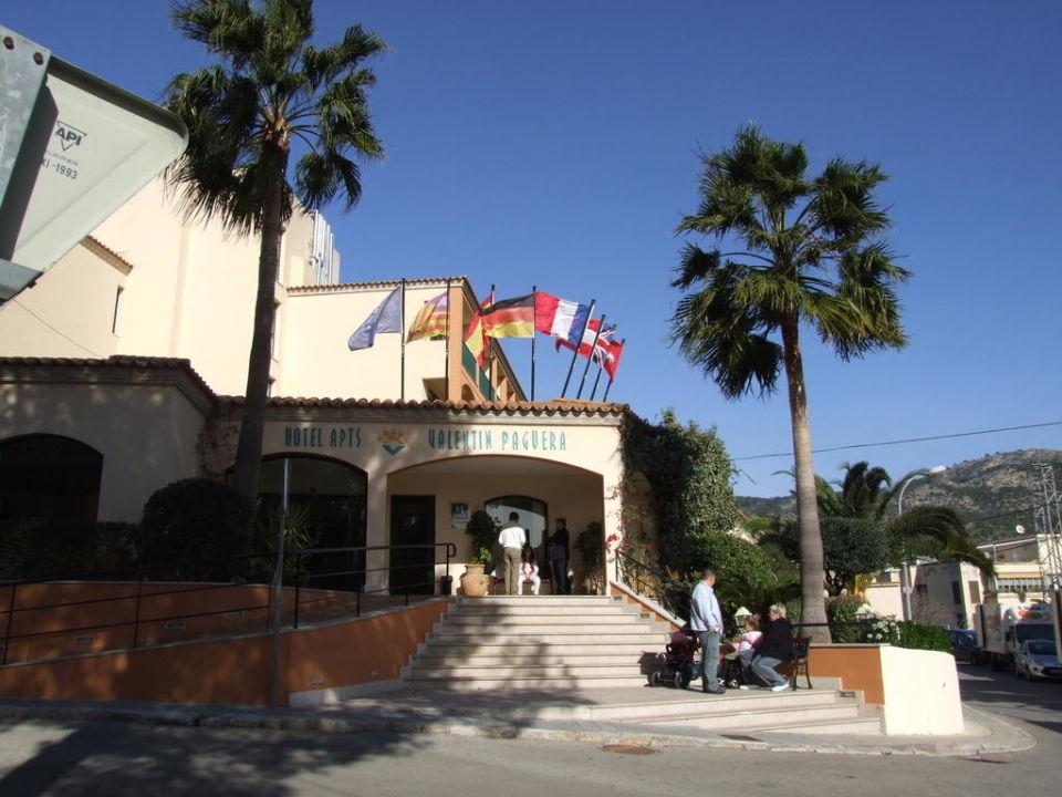 Haupteingang Rezeption Valentin Paguera Hotel & Suites