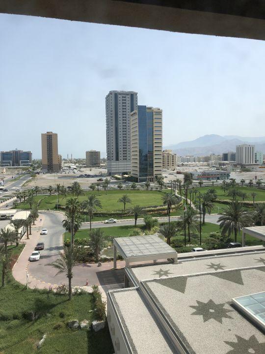 Ausblick Hilton Garden Inn Ras Al Khaimah