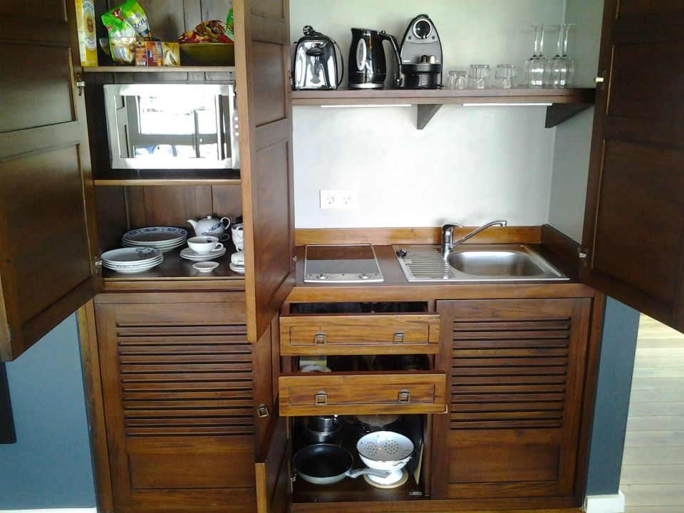 pantryk che ausstattung ferienh user appartements im. Black Bedroom Furniture Sets. Home Design Ideas