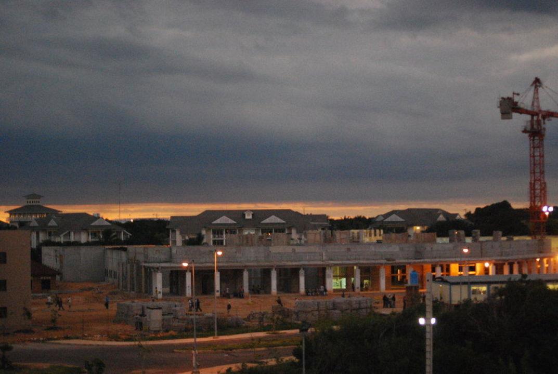 Baustellen neben an Iberostar Laguna Azul