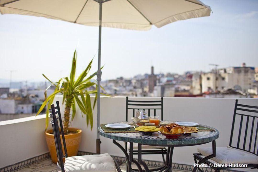 Terrasse panoramique Hotel Riad Arous Chamel