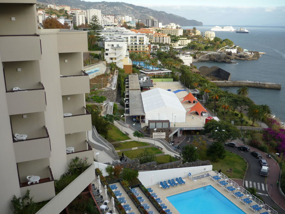 Blick aus Zimmer 1012 Hotel Baia Azul