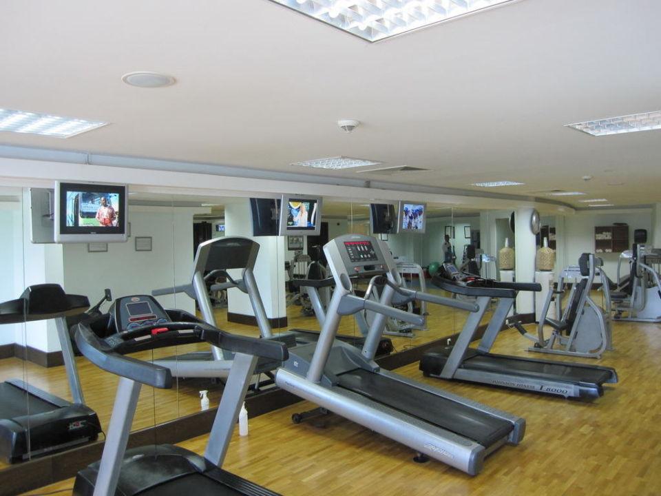 Fitnessraum modern  Der Fitnessraum - super modern eingerichtet