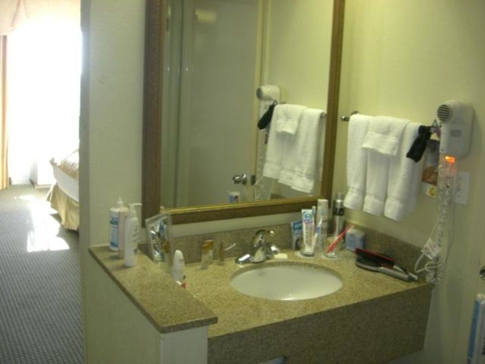 Badezimmer Hotel Rosen Plaza