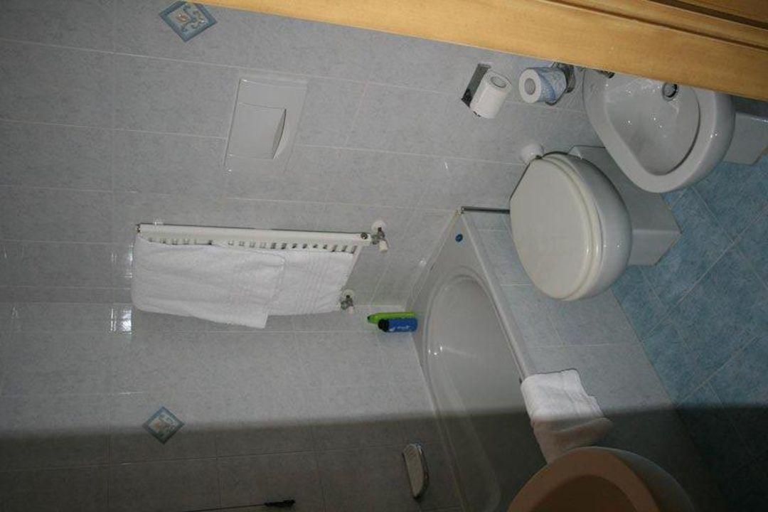 Badezimmer von Zimmer 114 Hotel Santa Marina & Ca' Marinella