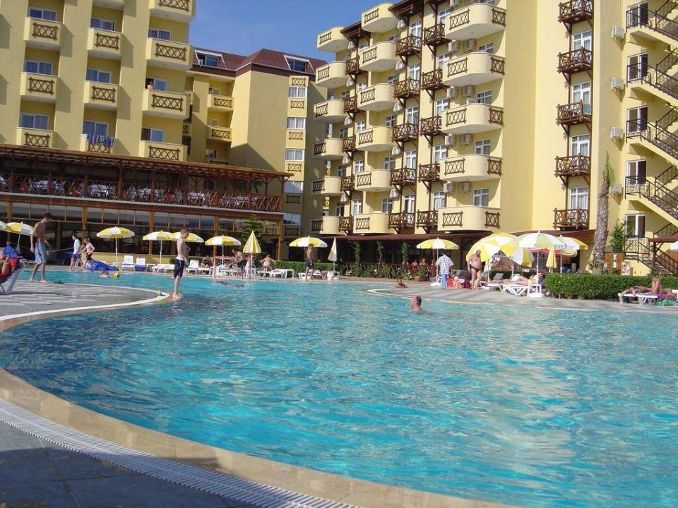 Poolbereich Hotel Titan Garden