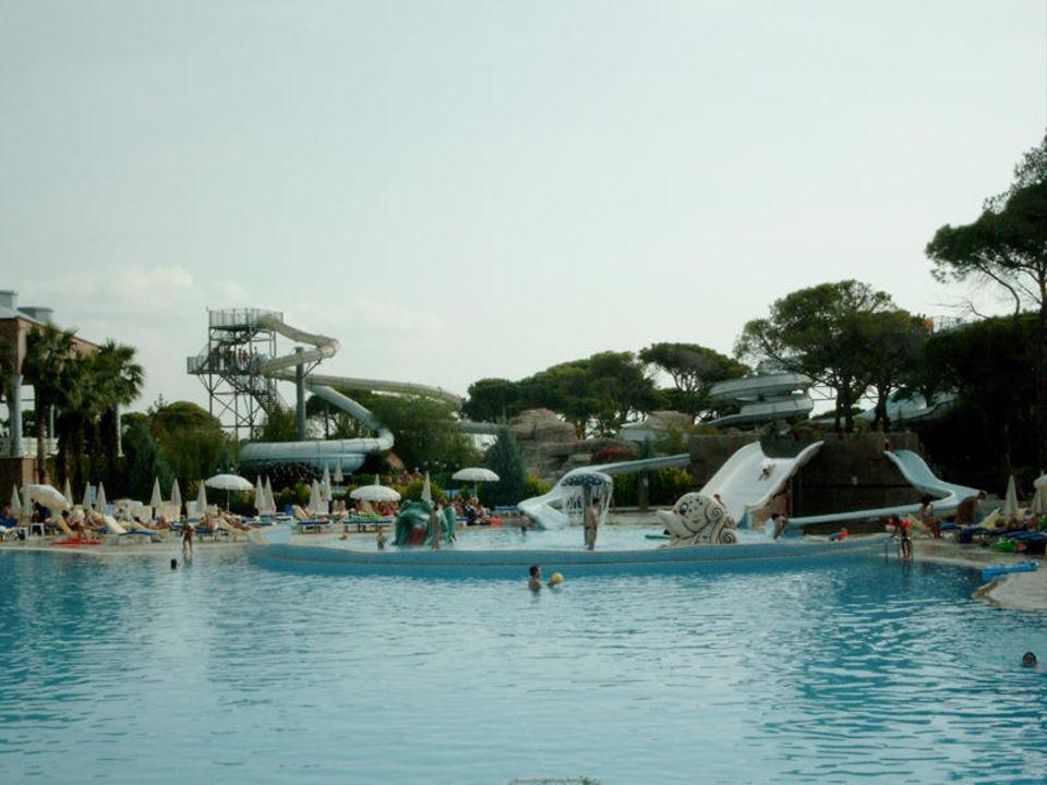 Topkapi Palace Vergnügungsrutschen - ein Spass für Jung und Swandor Hotels & Resorts Topkapi Palace