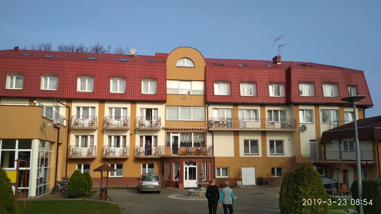 Außenansicht Hotel Jantar