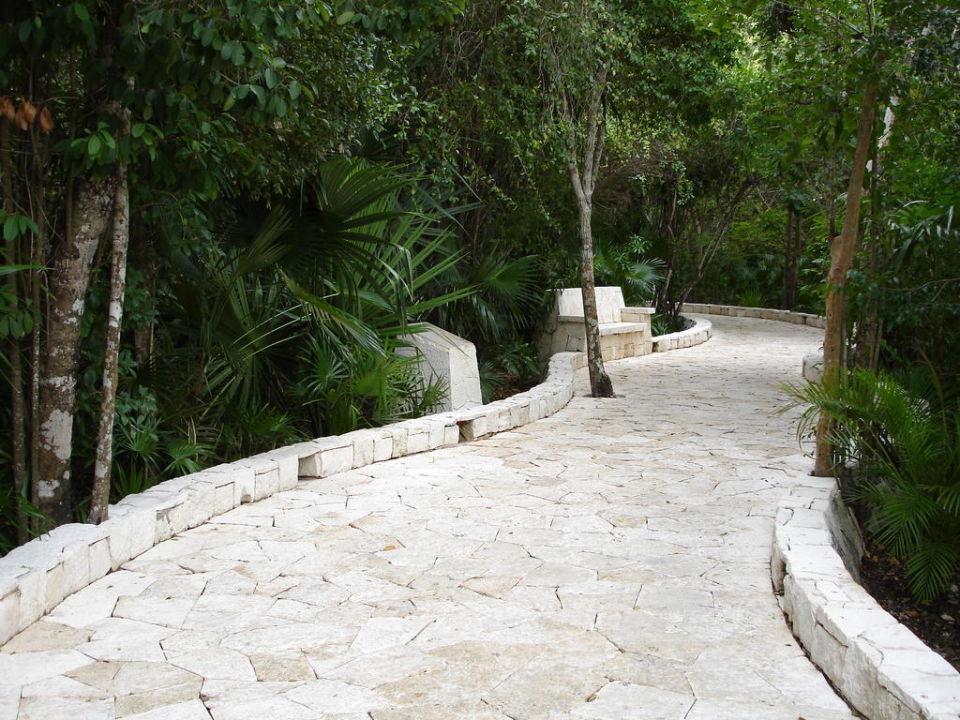 Weg durch die Anlage Catalonia Royal Tulum Beach & Spa Resort - Adults only