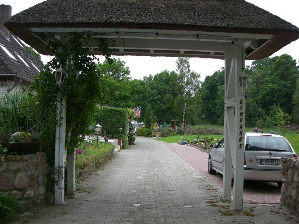 Einfahrt Hotel Wolterdinger Hof