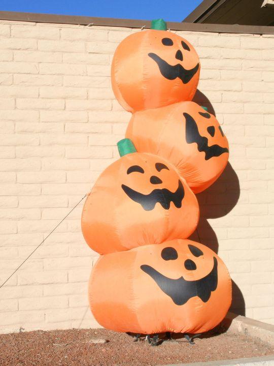 Halloween Deko Neben Der Lobby Hotel Kayenta Monument Valley Inn Kayenta Holidaycheck Arizona Usa
