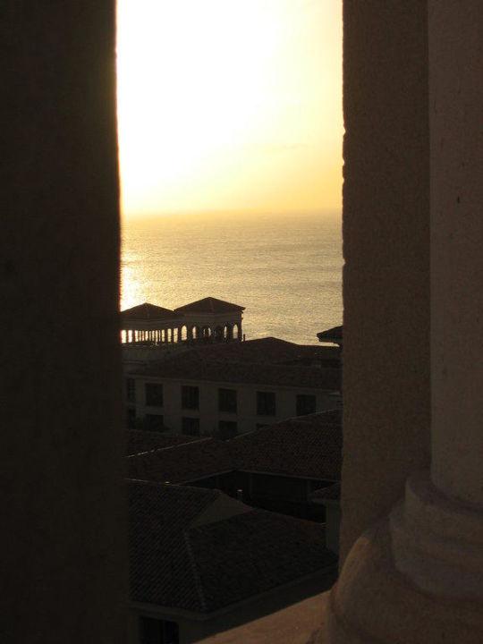 Sonnenuntergang vom Turm aus Lopesan Costa Meloneras Resort, Spa & Casino