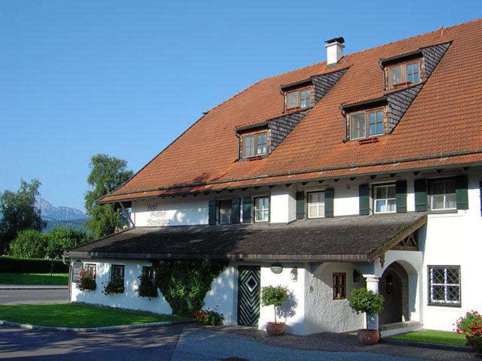 Eingang Restaurant Hotel Moosleitner