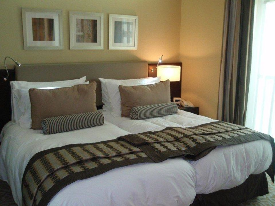 Schlafzimmer (Suite 1011) TIME Oak Hotel & Suite