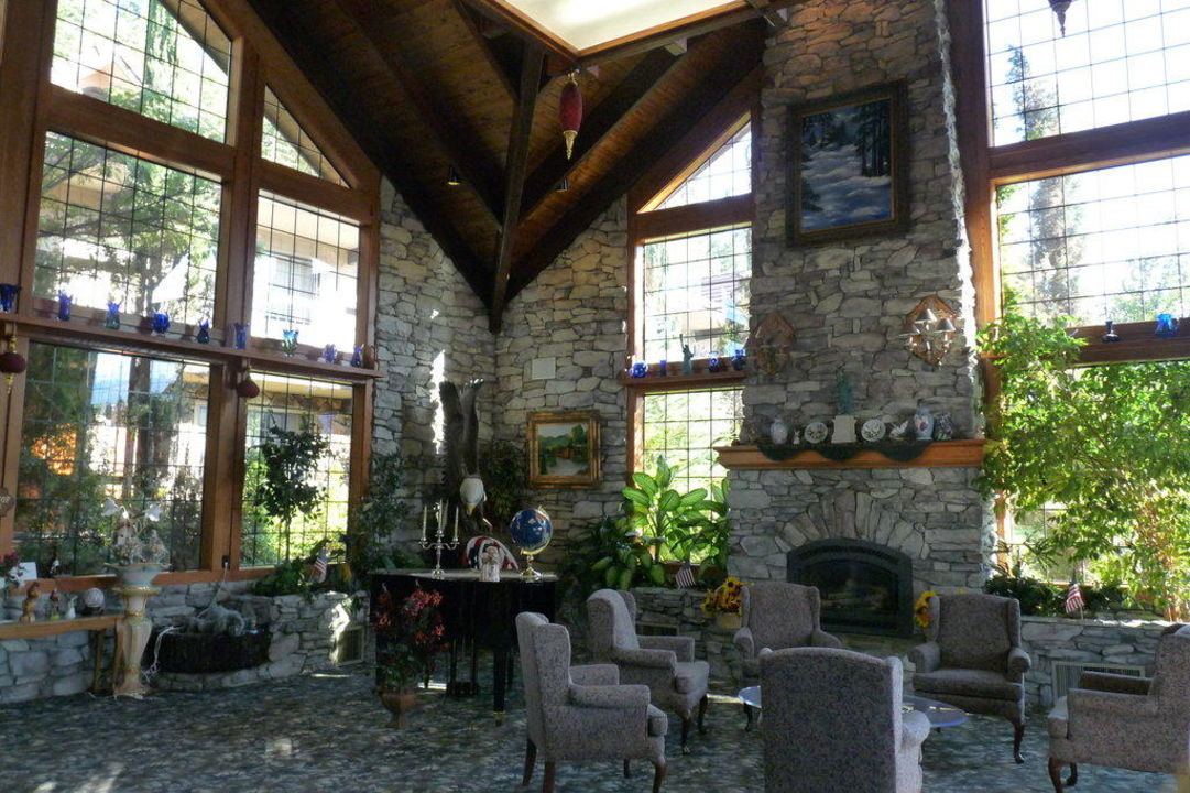 Nette Lobby Best Western Plus Yosemite Gateway Gasthof