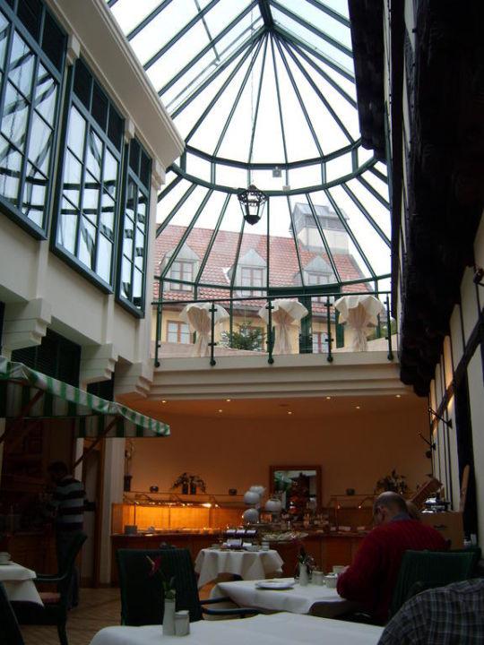 Fruhstuck Im Wintergartenrestaurant Hotel Travel Charme Gothisches