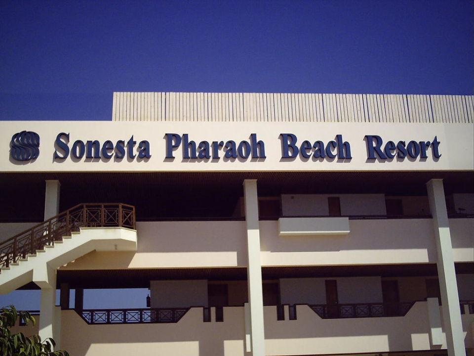 Aufgang zu die Zimmer Pharaoh Azur Resort