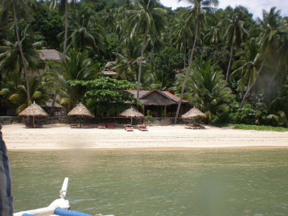 Sipalay Easy Diving and Beach Resort vom Wasser Hotel Sipalay Easy Diving and Beach Resort