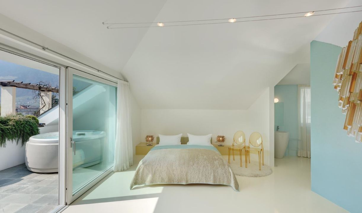 Penthouse Thermae Mit Privatem Whirlpool Boutique Design Hotel