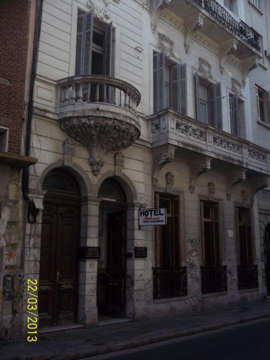 Eingang Hotel Bolivar