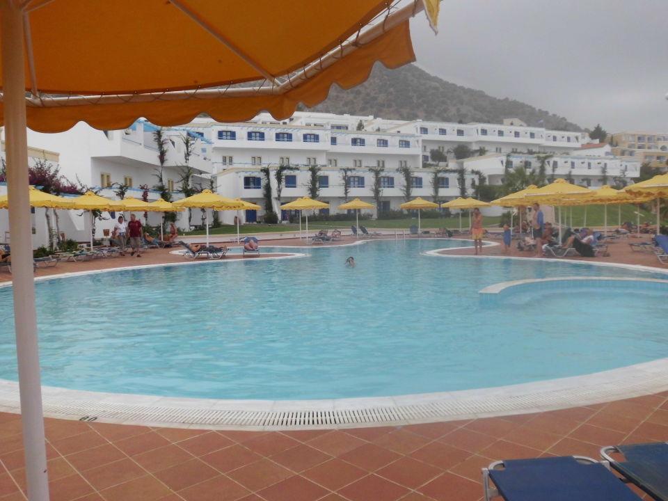 Salzwasser pool fantastisch zum schwimmen mitsis norida beach hotel zia holidaycheck kos - Pool salzwasser ...