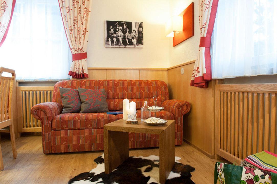 Wohnzimmer - Appartement Wengerau Landhaus Rohrmoser