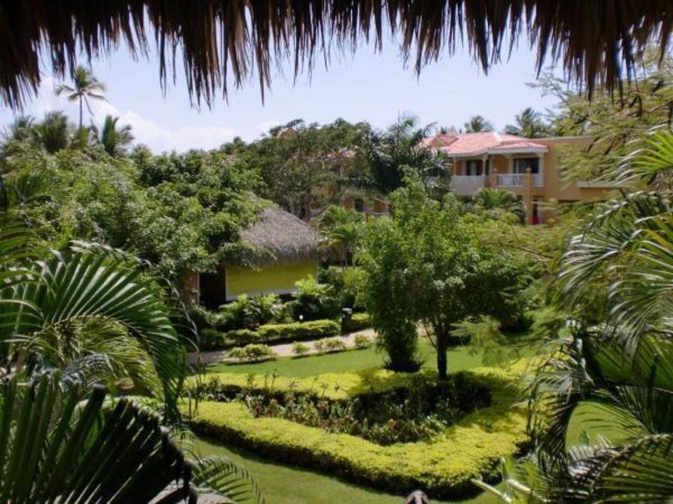 Vom Hauptgebäude aus Hotel Viva Wyndham Dominicus Palace