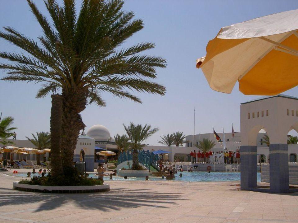 Poolanlage Hotel Djerba Paradise Resort Hotel Djerba Paradise Resort