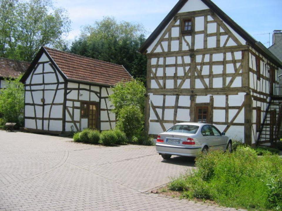 Fachwerkh user eifel hotel historische wasserm hle in for Design hotel eifel bewertung