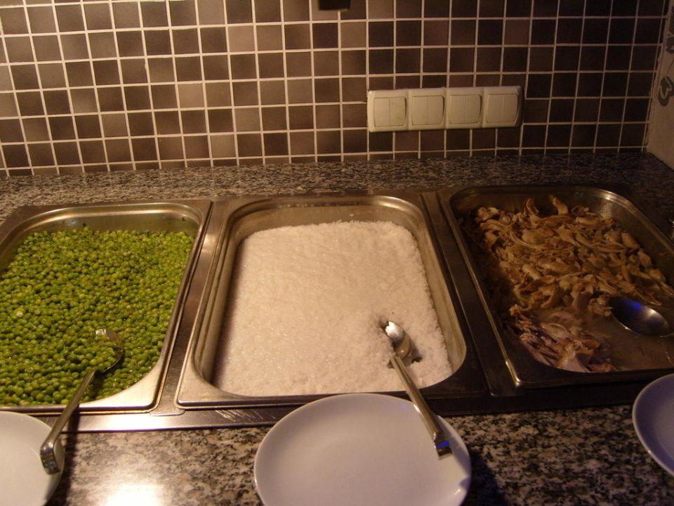 Diätbuffet (ausschl. gedünstet o. gekocht) Side Alegria Hotel & Spa