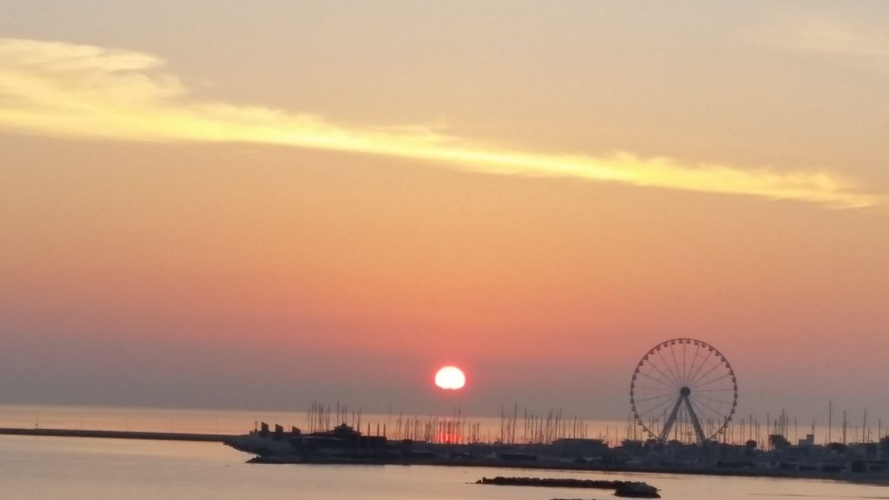 Sonnenaufgang Hotel Driade