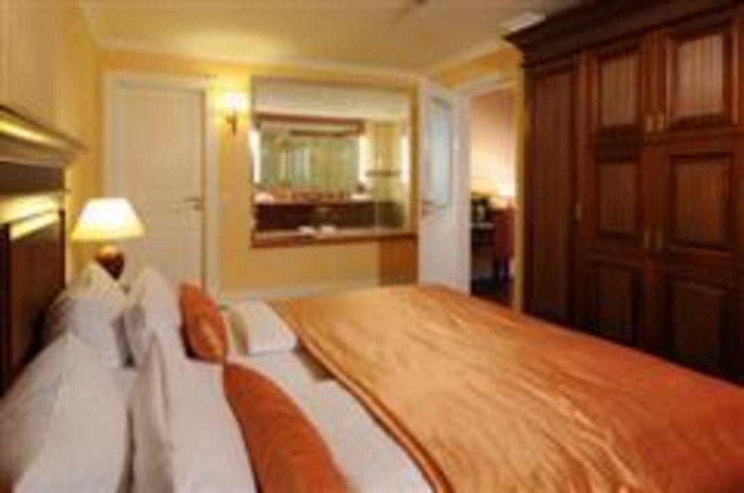 Suite Schlafbereich Hotel Vier Jahreszeiten Kühlungsborn