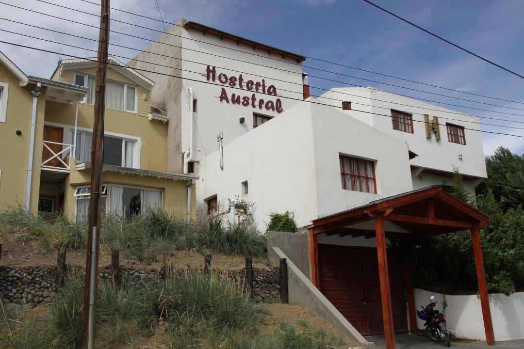 Außenansicht Hosteria Austral