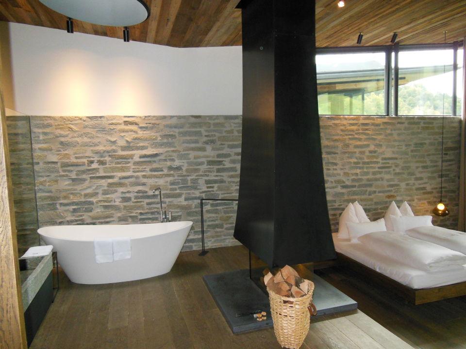 Freistehende badewanne designhotel wiesergut saalbach for Designhotel wiesergut