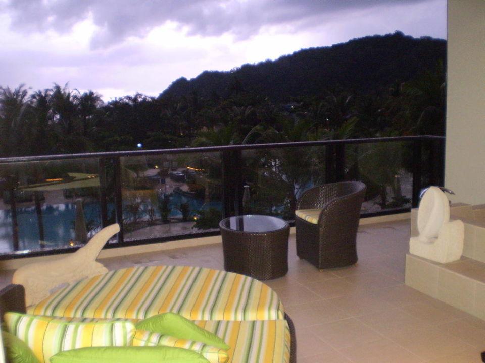 Balkon  Shangri-La's Rasa Ria Resort & Spa