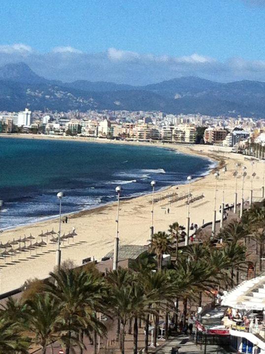Vom Balkon Aussicht Allsun Hotel Pil Lari Playa Platja De Palma