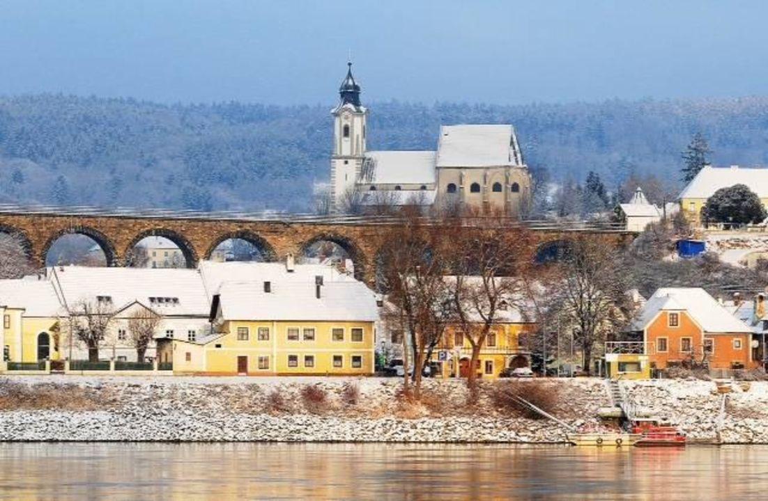 Traumhafte Winterlandschaft Hotel & Restaurant Donauhof